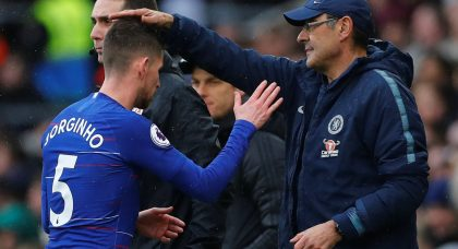 Chelsea: Some fans heap praise on Jorginho in captain role