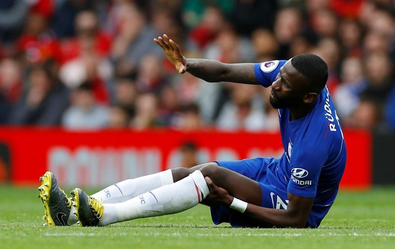 Chelsea: Some fans send well-wishes to injured Antonio Rudiger